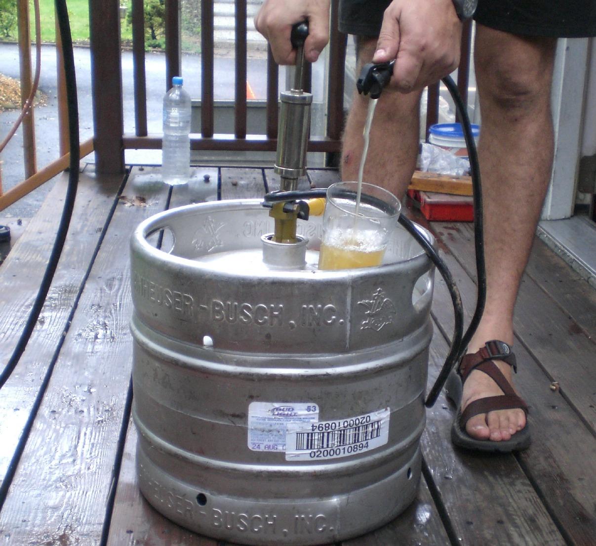 Craft Beer In Kegs