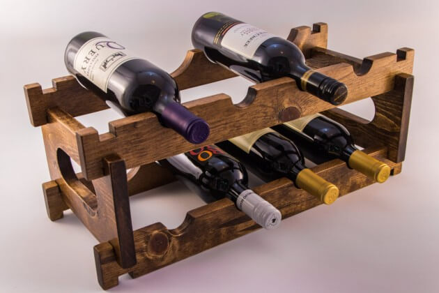 Ideas For A Diy Wine Rack Beer Wine Liquor Delivery
