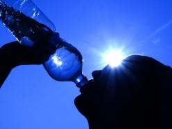 Drinking-water-hot-sun