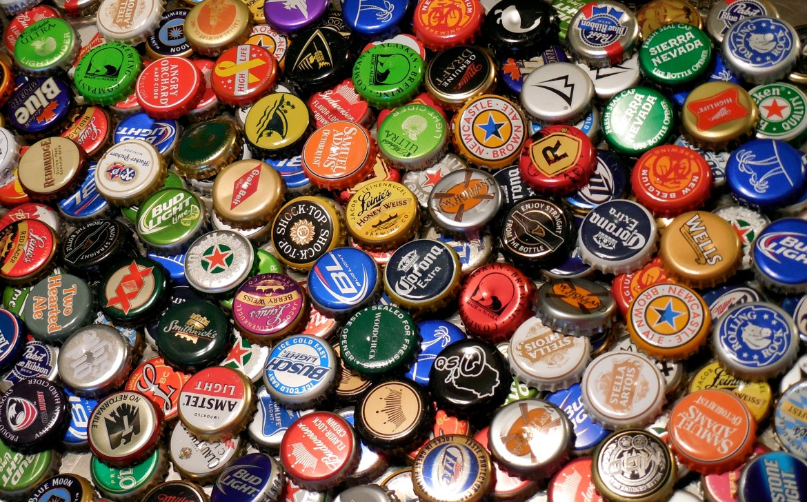 Does anyone have a lighter awesome beer bottle hacks for What can i make with beer bottle caps