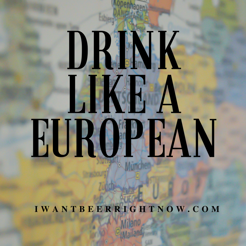 Drink like a european (1)