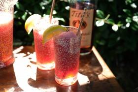 Hibiscus Cherry Frozen Lemonade